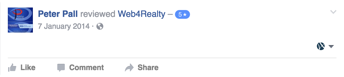 Web4Realty Facebook Review 22