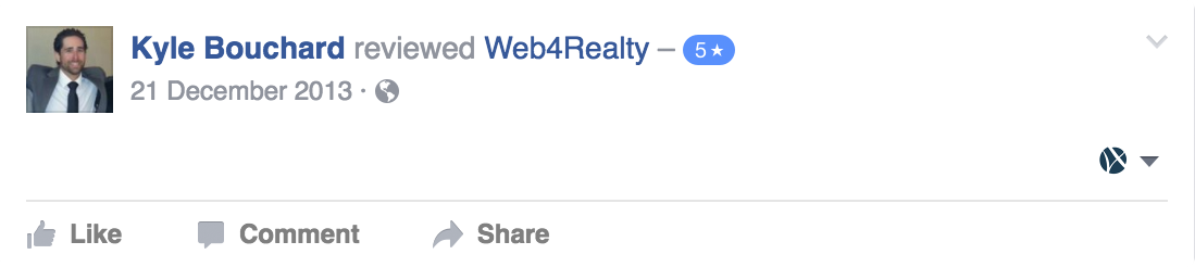 Web4Realty Facebook Review 30