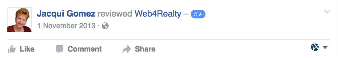 Web4Realty Facebook Review 32
