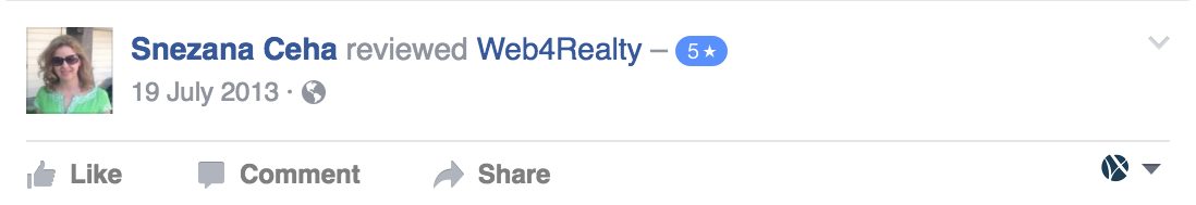Web4Realty Facebook Review 44