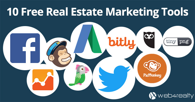 free real estate marketing tools