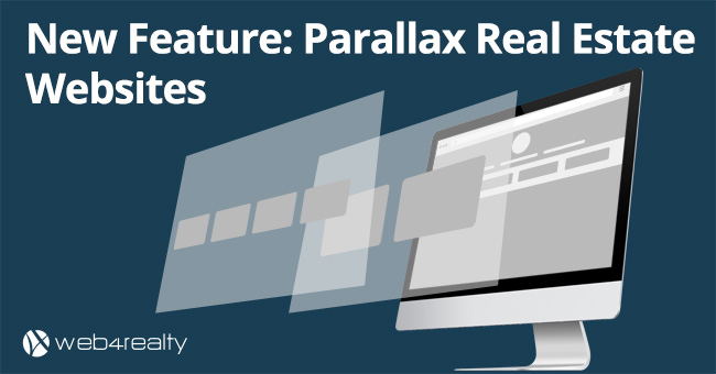 parallax real estate websites