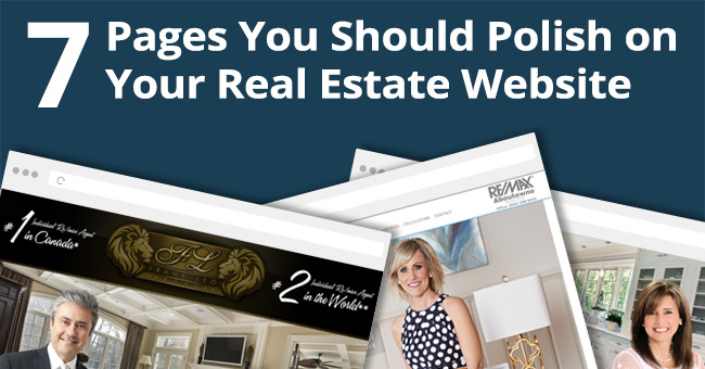 7 Pages You Should Polish On Your Real Estate Website