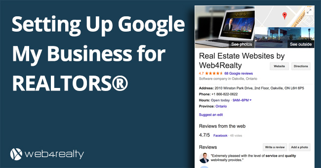 Google My Business For Realtors