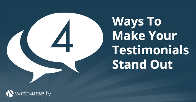 4 Ways To Make Your Testimonials Stand Out
