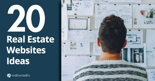 20 real estate website ideas