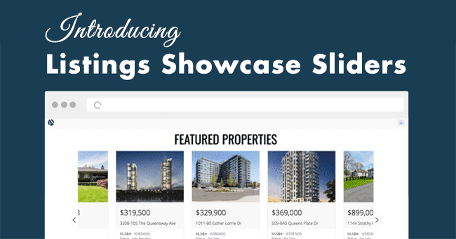 Listings Showcase Sliders