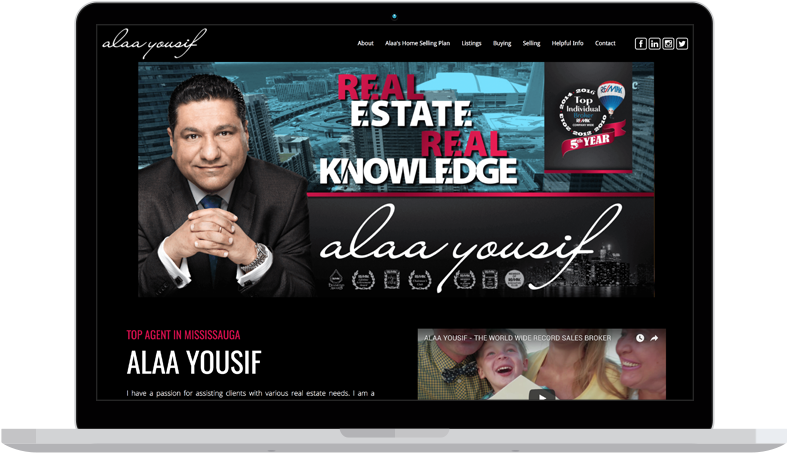 alaa yousef real estate website