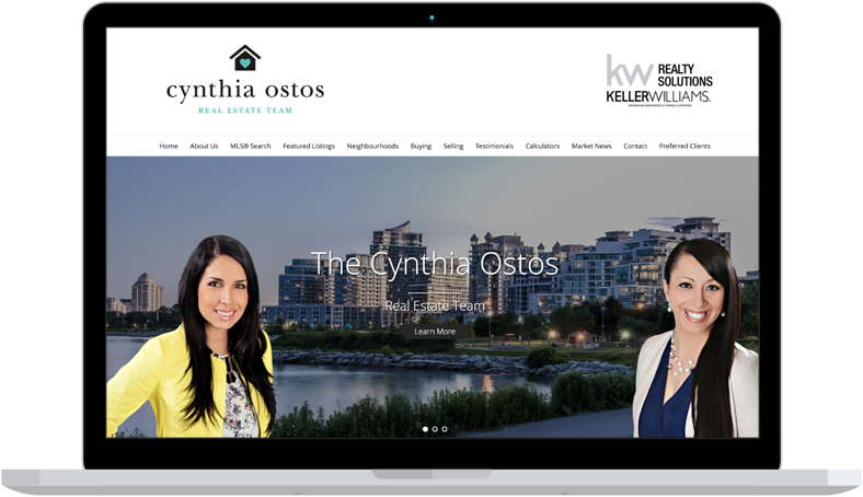 mimico real estate website design