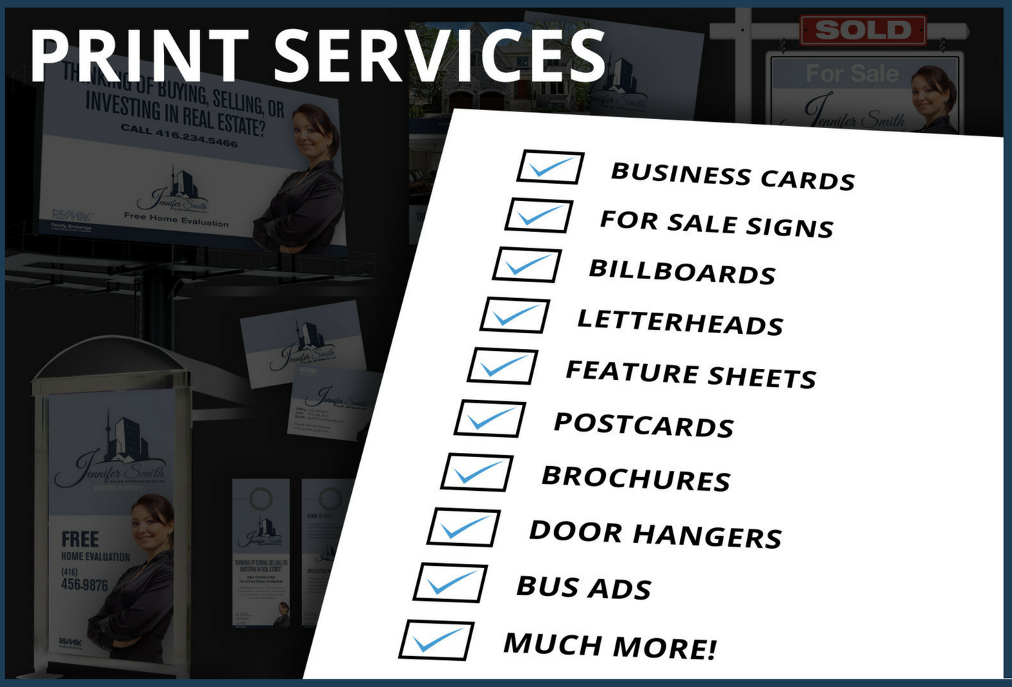 Realtor Print Design Services