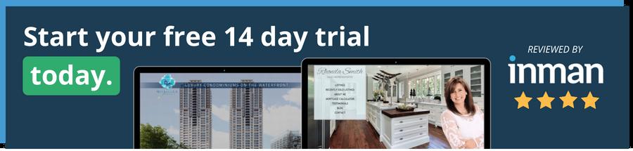 free real estate website design