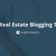 10 real estate blogging tips