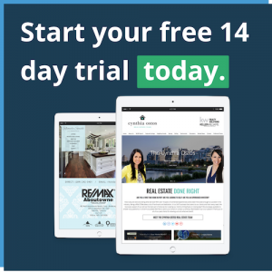 real estate website free trial