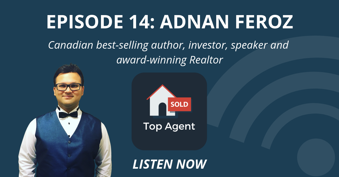 Canadian Best Selling Author, Investor, Speaker & Award Winning Realtor