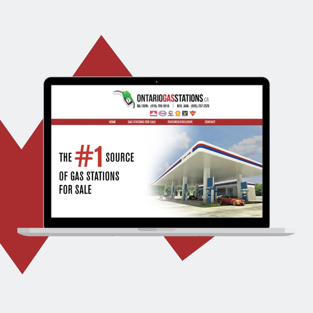 Gas Station Website
