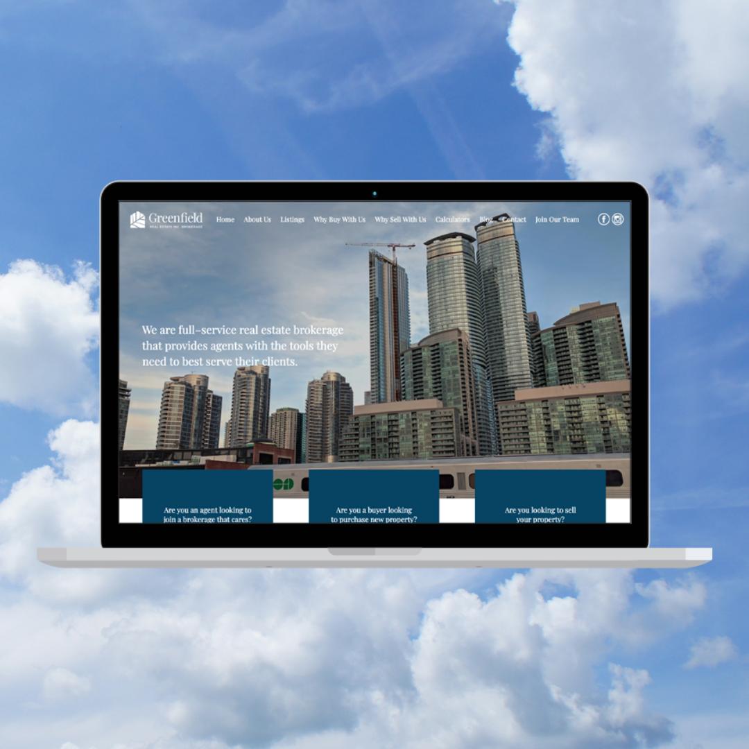 Greenfield Website