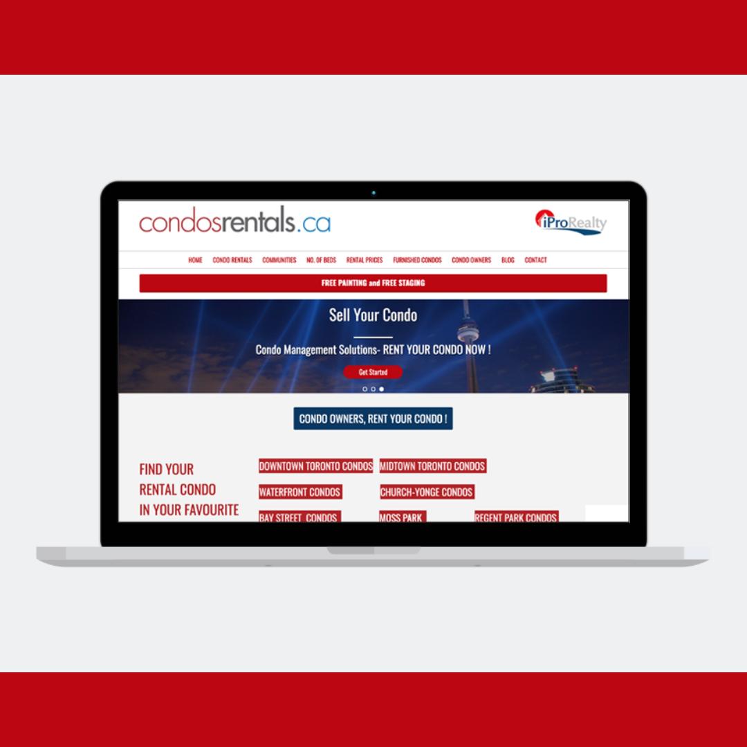 Condo Rentals Website