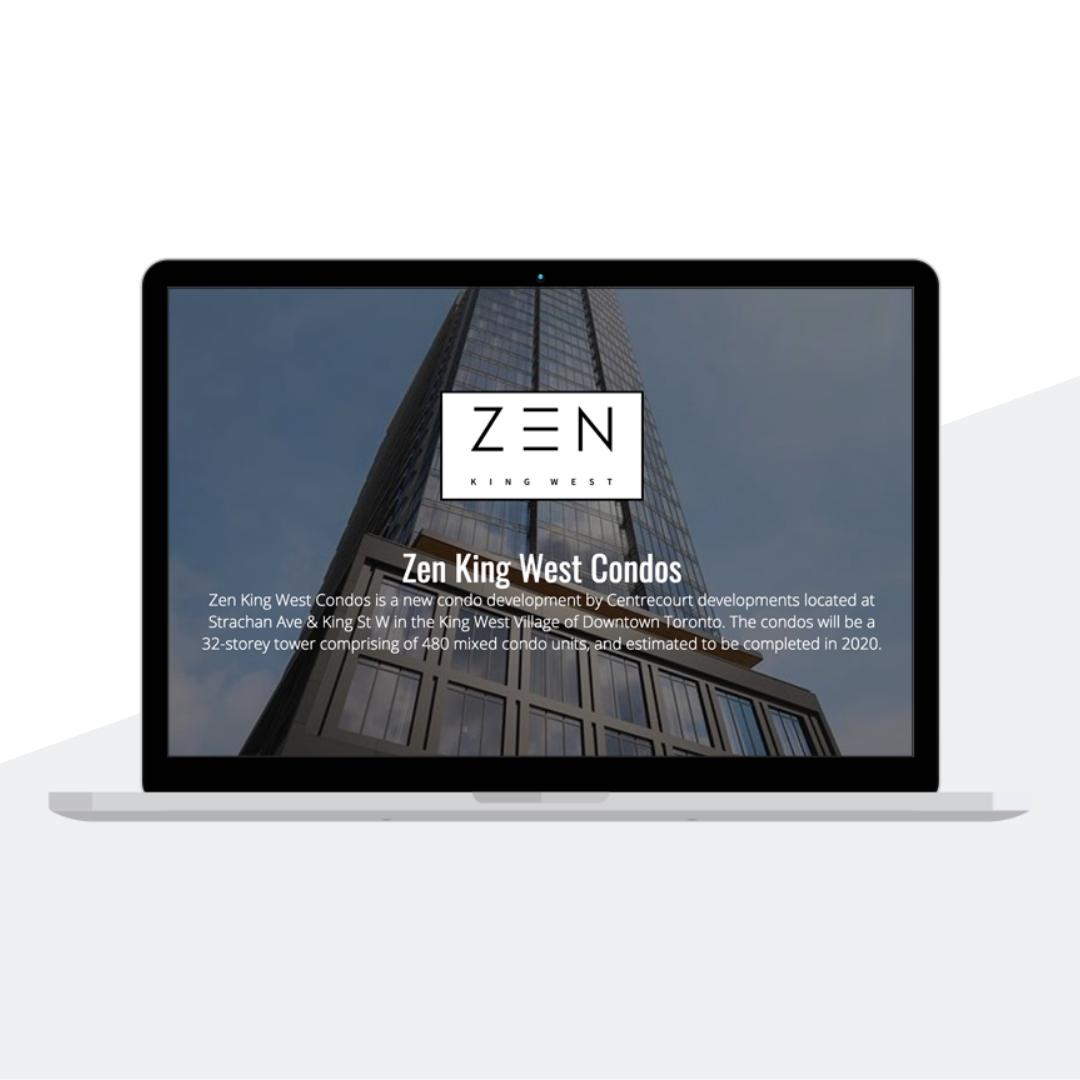 Zen Condo's Website