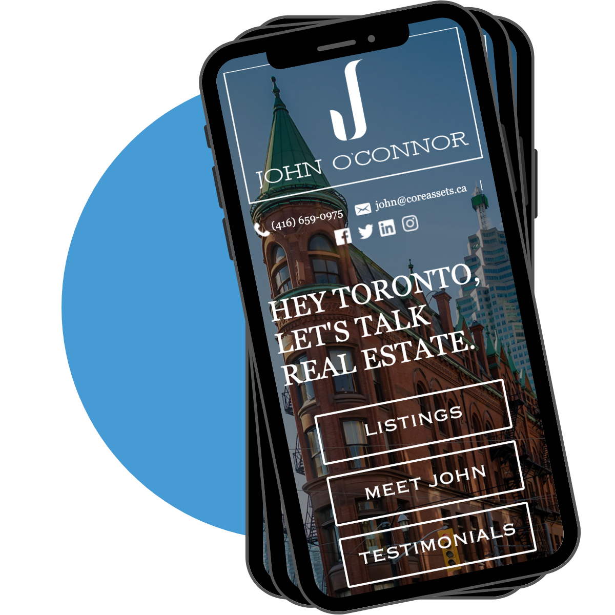 mobile friendly realtor site