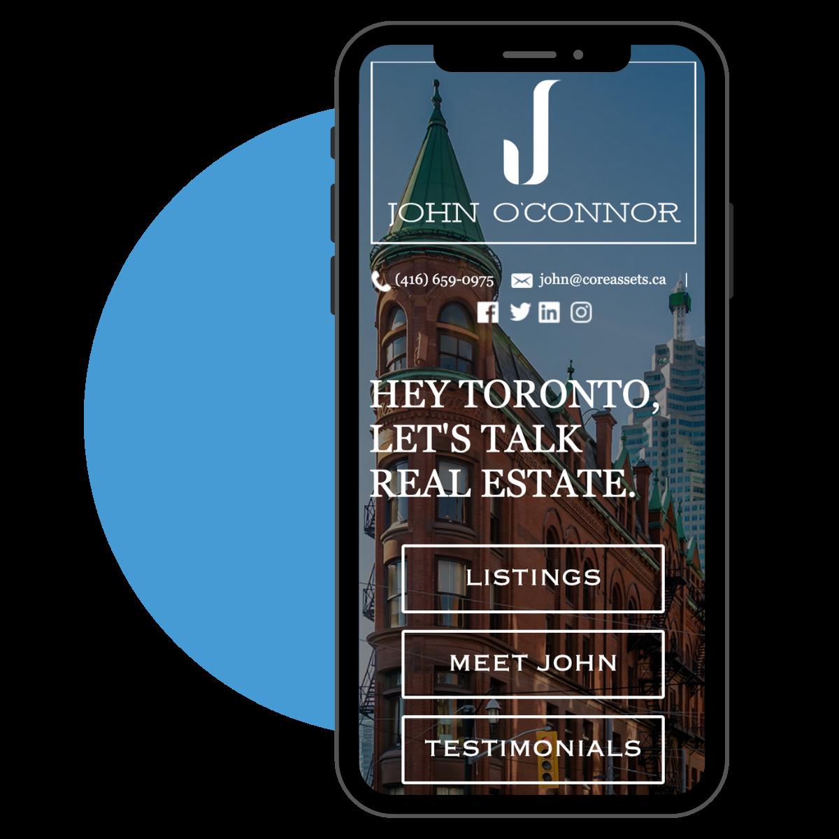 mobile friendly realtor websites