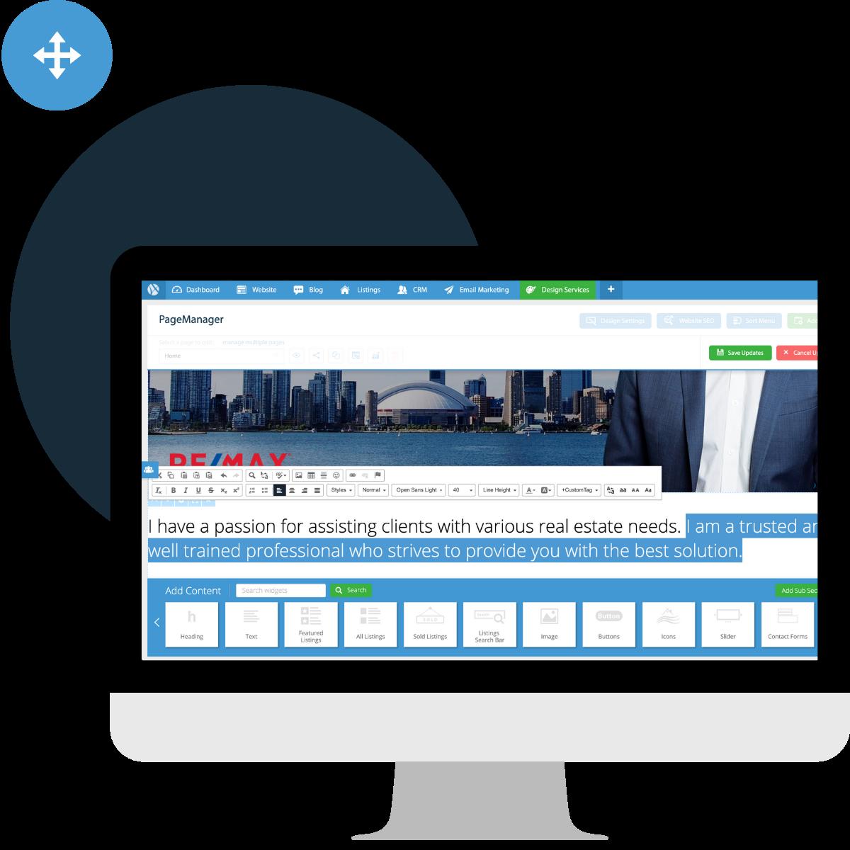 real-estate-agent-website-platform