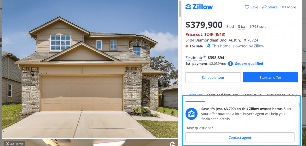 chat with a realtor