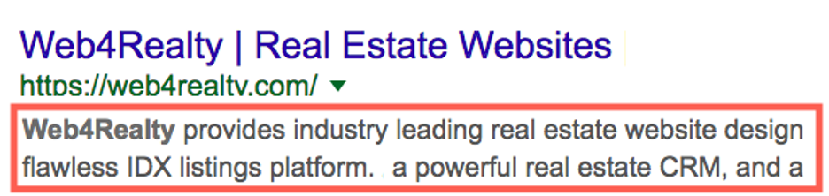 using meta tags on seo for real estate
