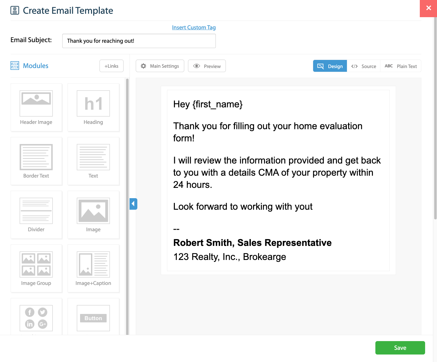 automate emails to clients when away
