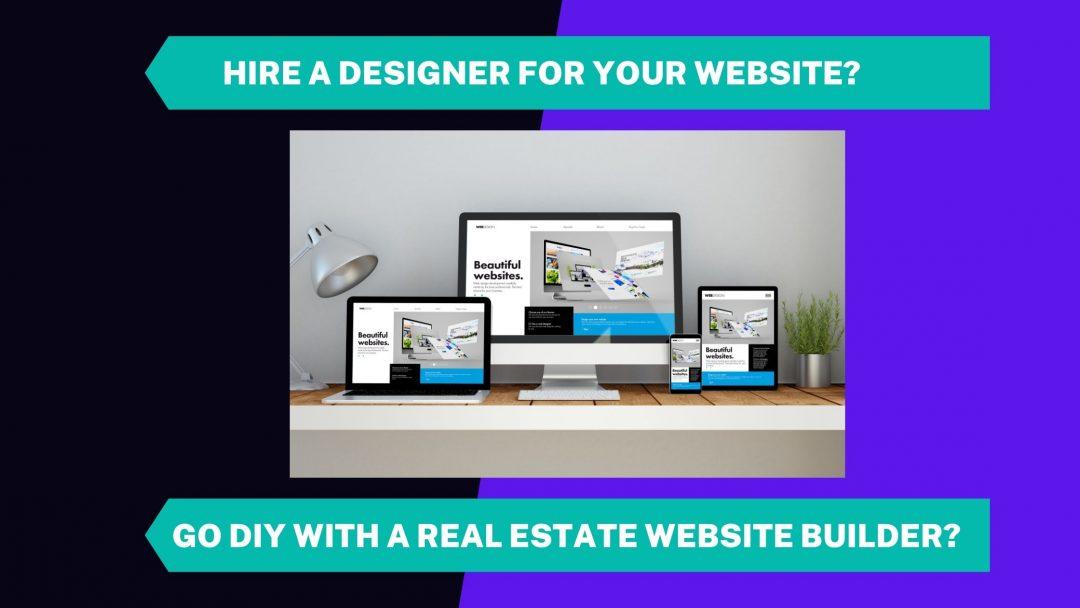 real estate website builder vs real estate wordpress themes