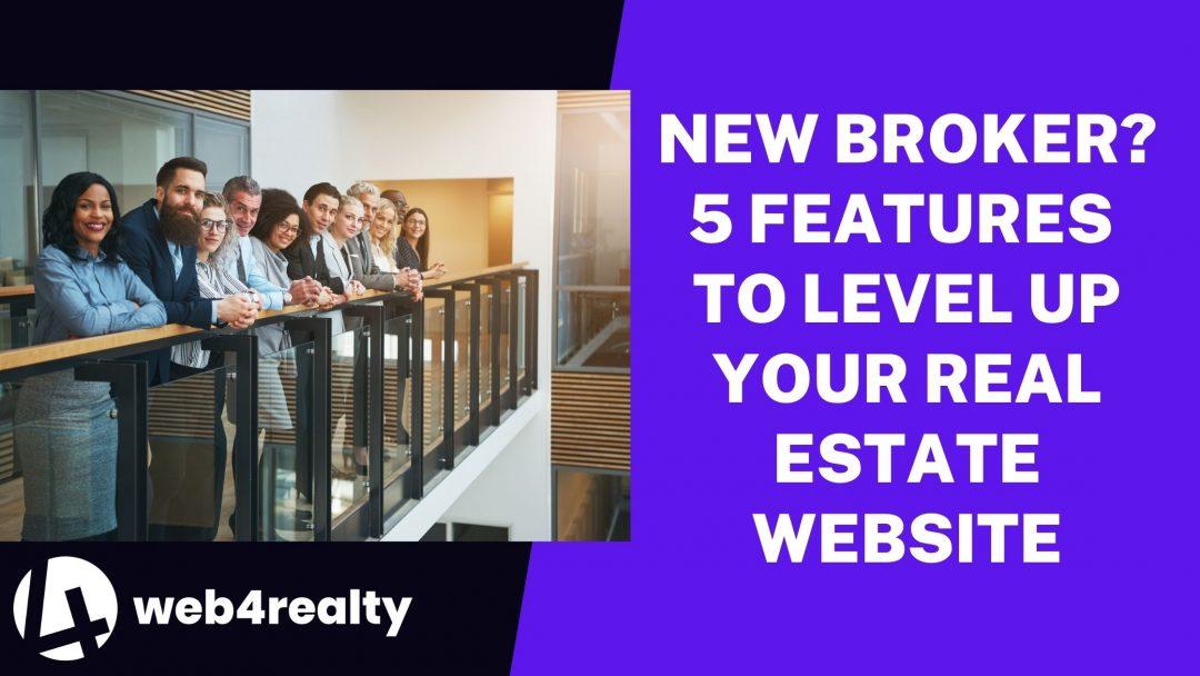 real estate website for brokers