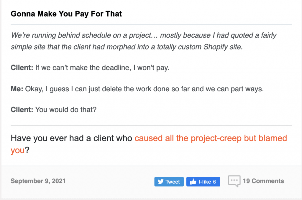 questions to ask designers about scope of work