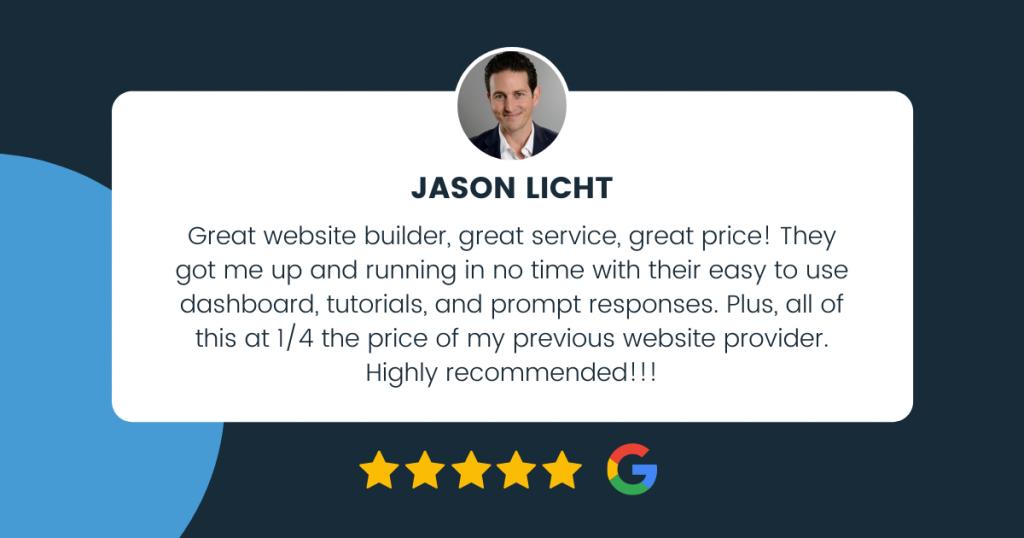 client reviews real estate website builder