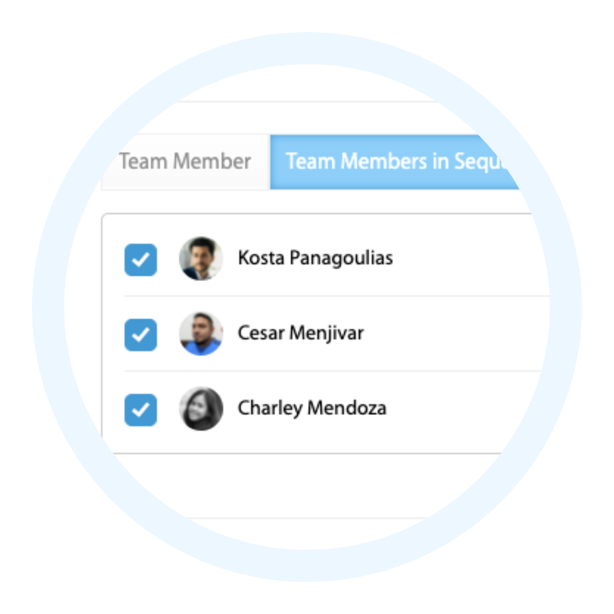 Web4Realty Live Chat, Assign Team Members