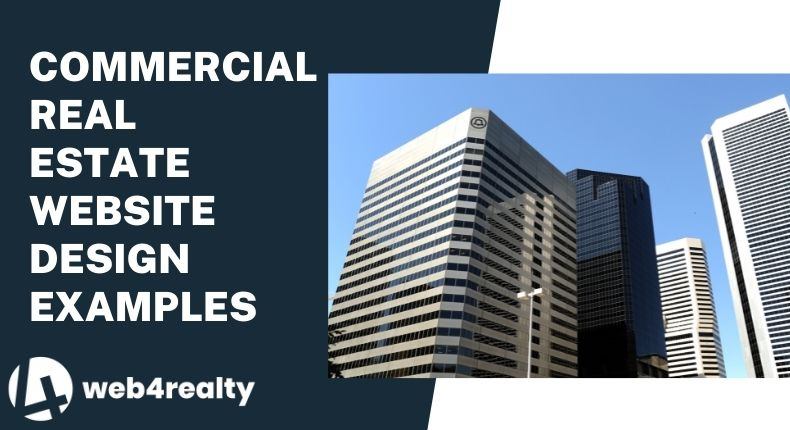 examples of commercial real estate website design